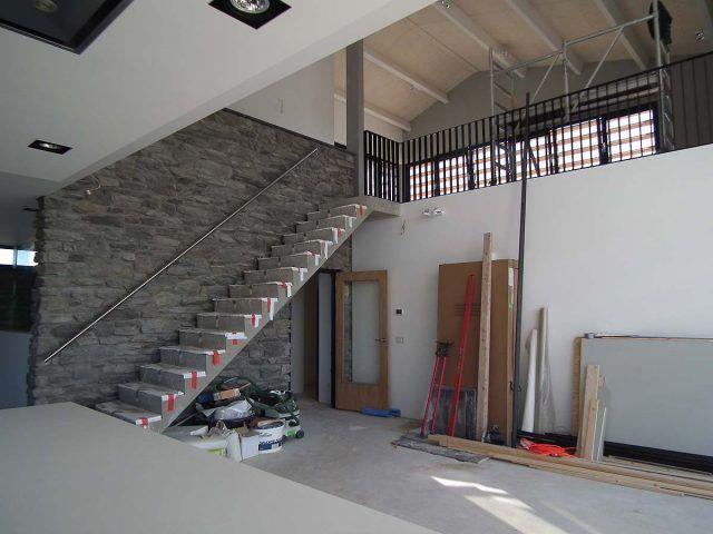 Woonkamer Met Vide : Interieur ontwerp villa BNLA Architecten