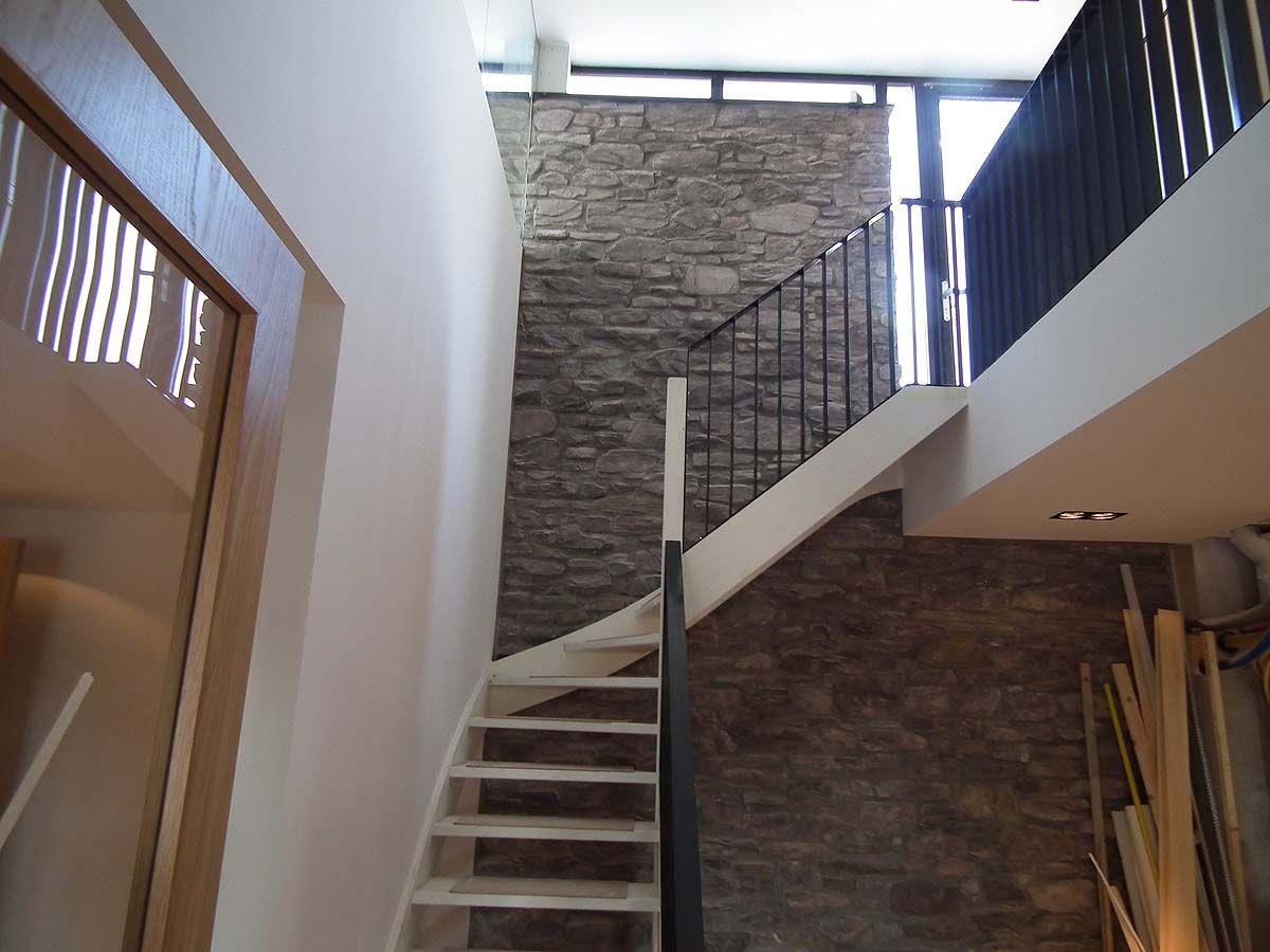 Interieur ontwerp villa bnla architecten - Interieur ontwerp trap ...