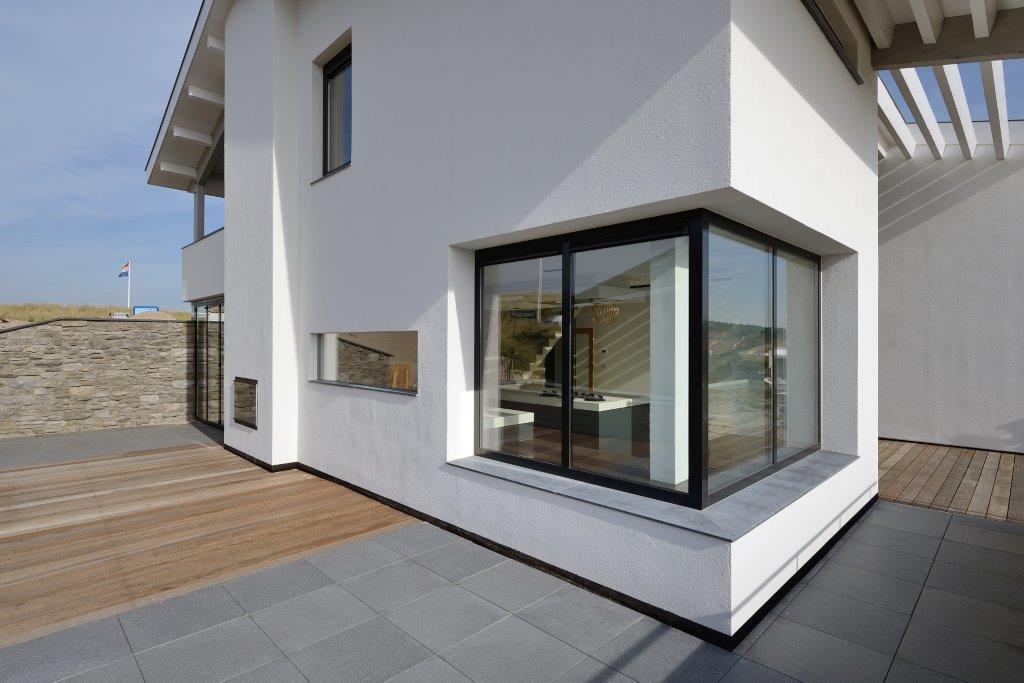 Oplevering ontwerp luxe woning bergen aan zee bnla for Afbeelding van moderne huizen
