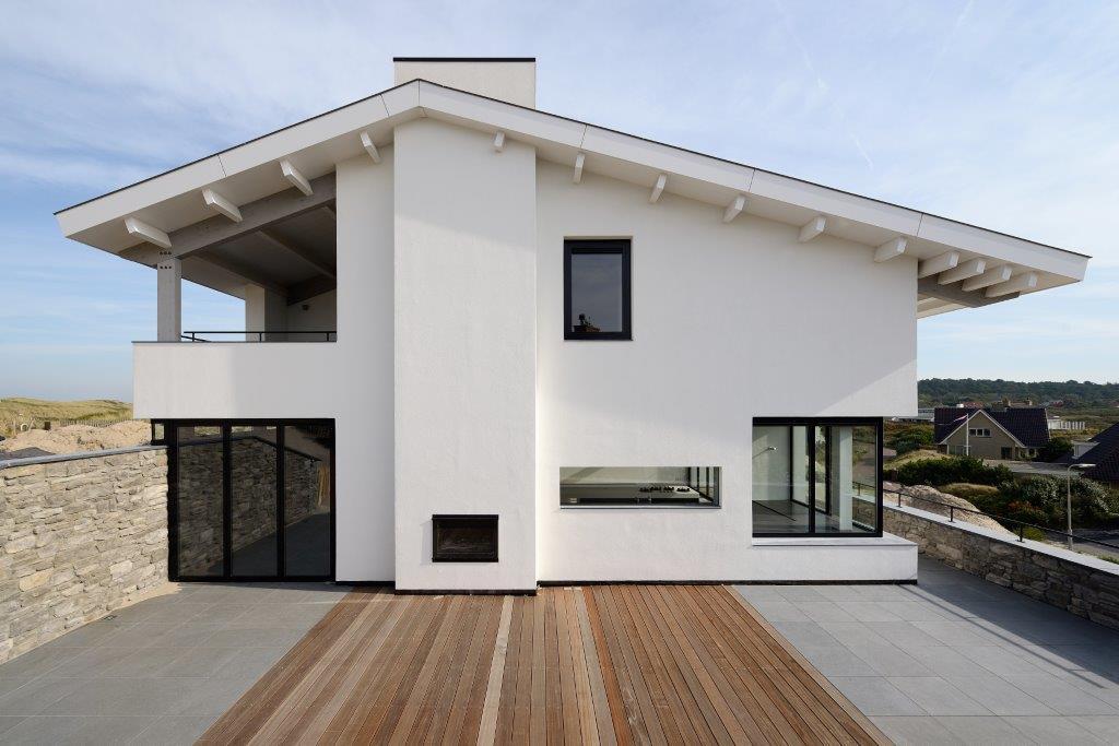 Oplevering ontwerp luxe woning bergen aan zee bnla - Moderne kleur huis ...