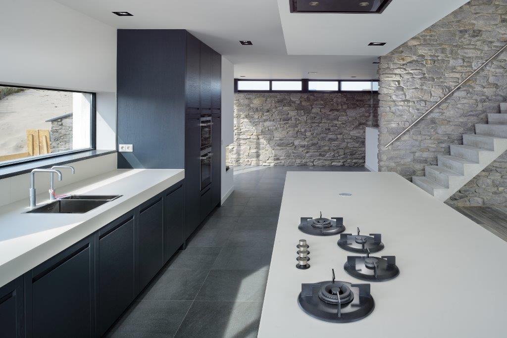 Oplevering ontwerp luxe woning bergen aan zee bnla - Designer keuken ...
