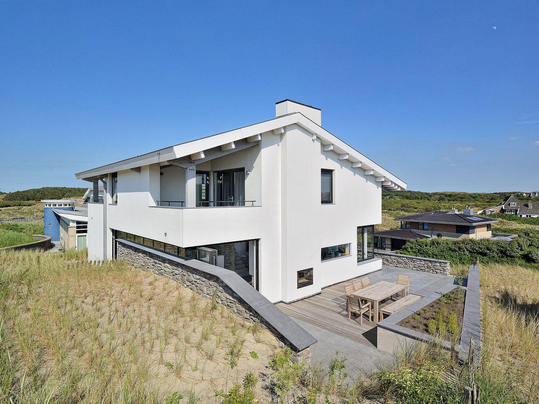 Ontwerp architect in bergen realisatie nieuwe moderne villa - Modern huis aan zee ...