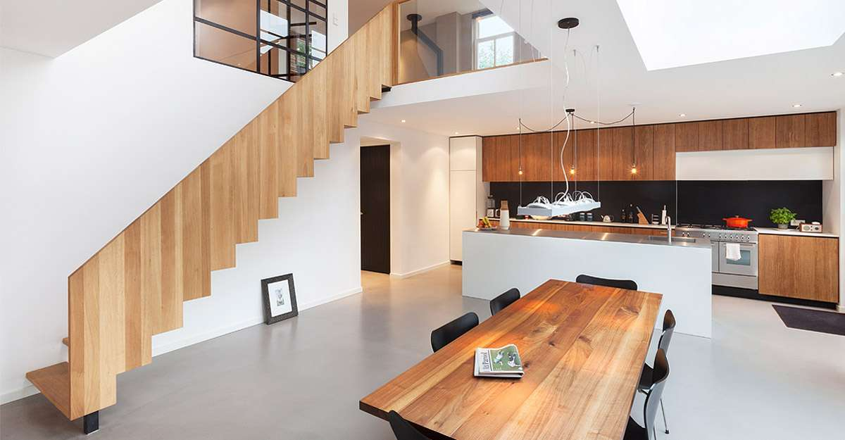 Interieur woning architect amsterdam bnla for Architect interieur