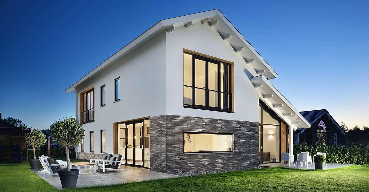 Ontwerp nieuwbouw woning door architect