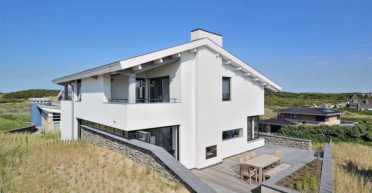 Ontwerp villa door architect uit Amsterdam