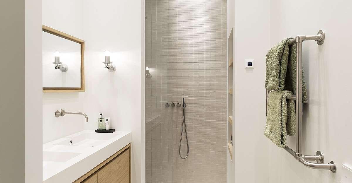 Verbouwing badkamer door BNLA architecten uit Amsterdam