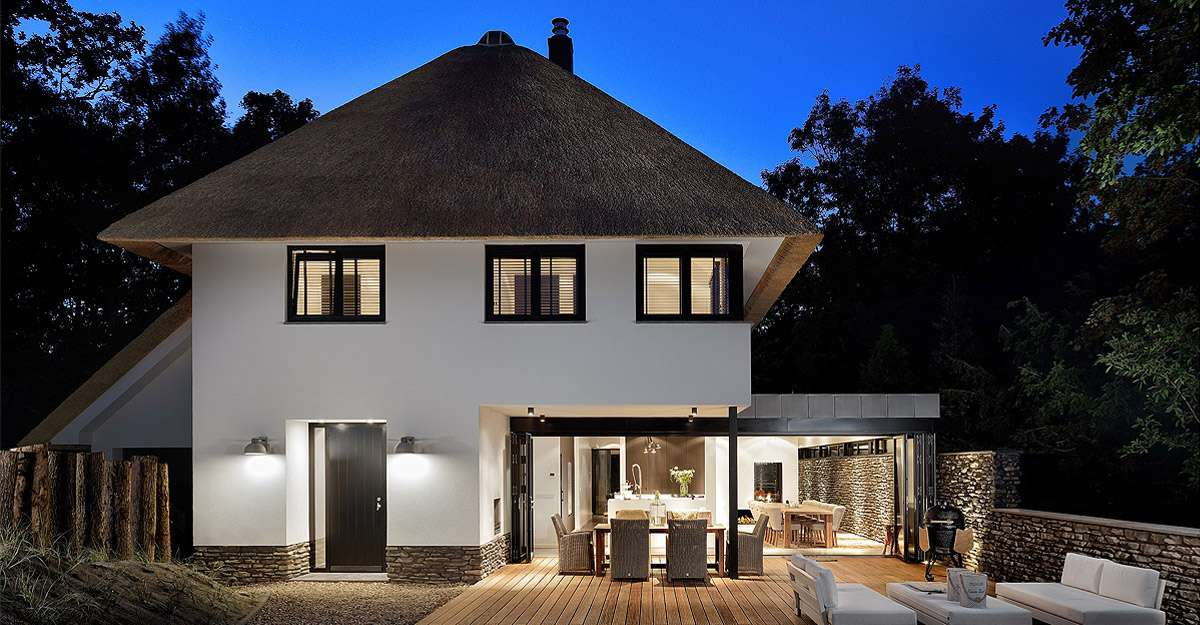 ontwerp moderne villa - BNLA architecten