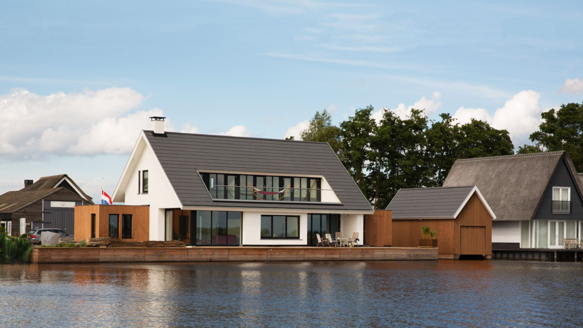 Architect modern huis in Loosdrecht