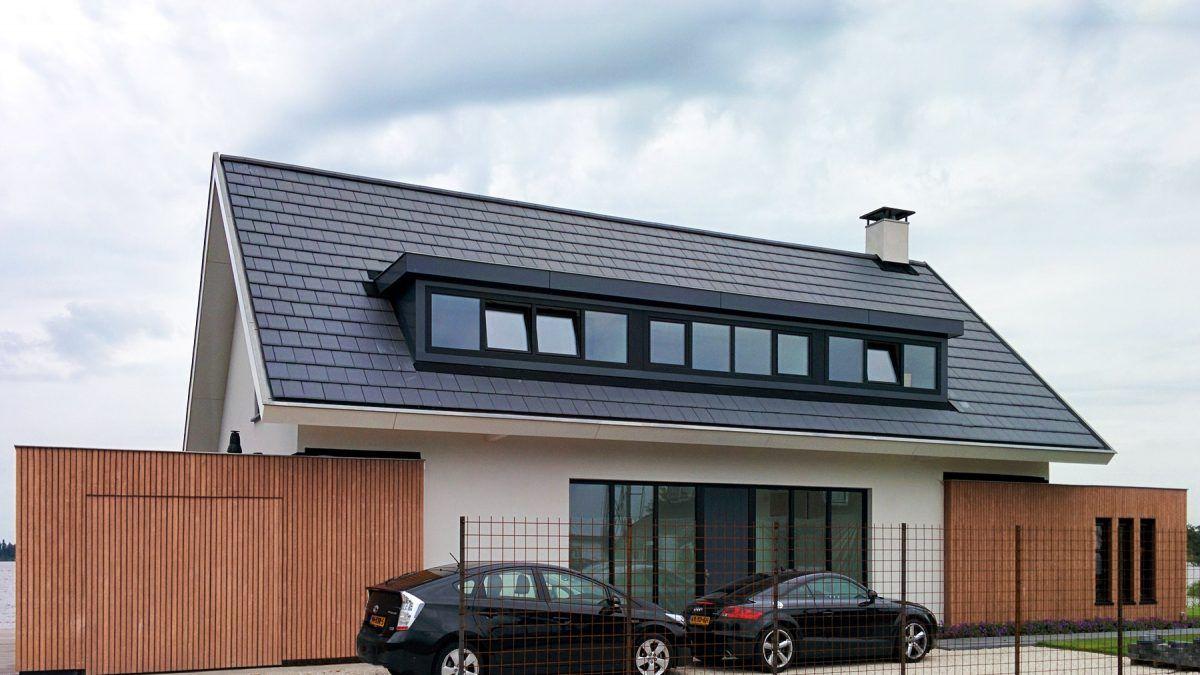 Moderne architect ontwerp modern huis in loosdrecht bnla - Modern stenen huis ...