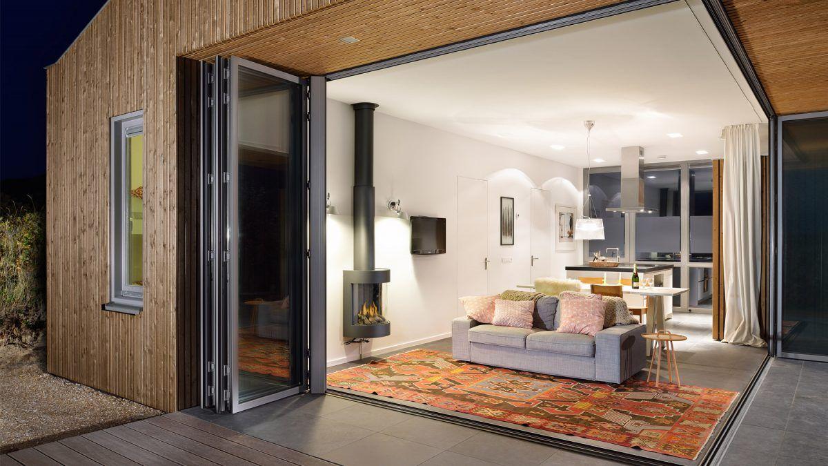 Ontwerp vakantiehuis door BNLA Architecten