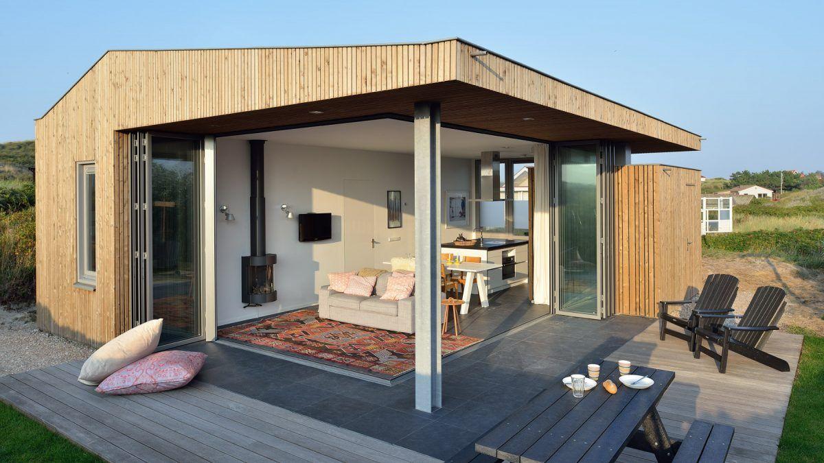 Ontwerp vakantiehuis door architect