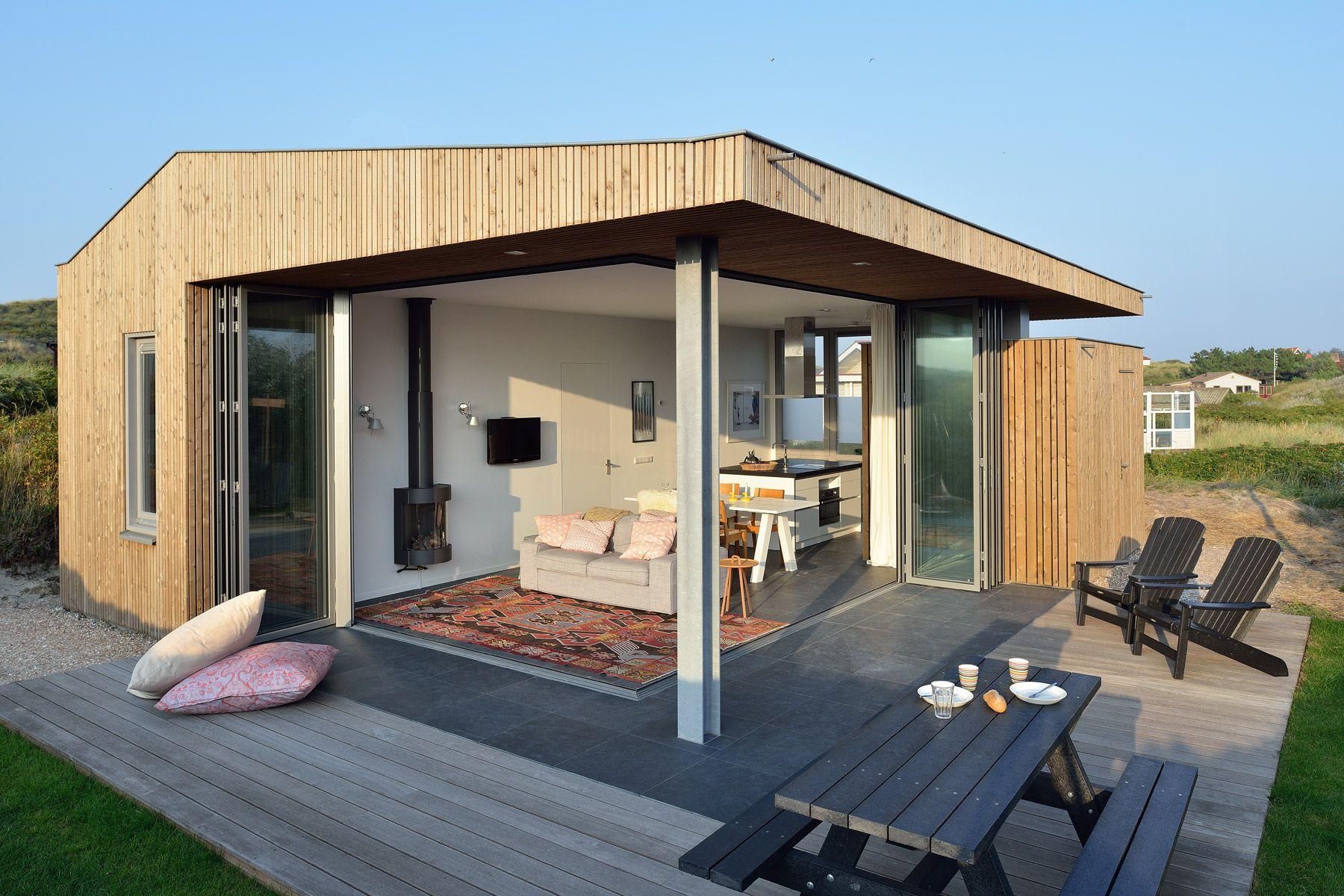 ontwerp vakantiehuisje vlieland bnla architecten