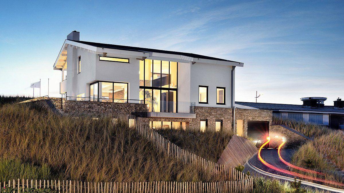 Ontwerp Villa in Bergen aan Zee door architect Bloem en Lemstra