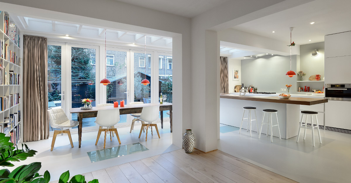 Architect amsterdam interieur woning bnla for Interieur architect amsterdam