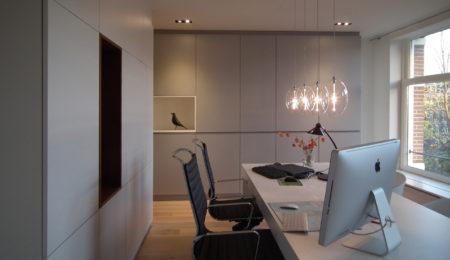 Ontwerp kantoor aan huis bnla for Interieur utrechtsestraat