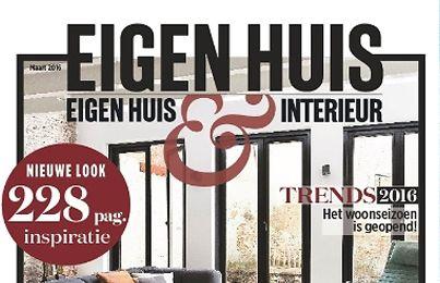 Publicatie eigen huis en interieur bnla for Abonnement eigen huis en interieur