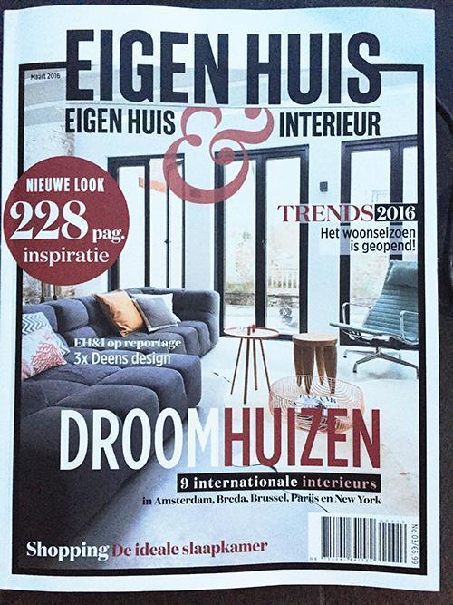Voorpagina eigen huis en interieur 3 2016 bnla for Abonnement eigen huis en interieur