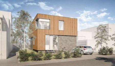 ontwerp huis IJburg
