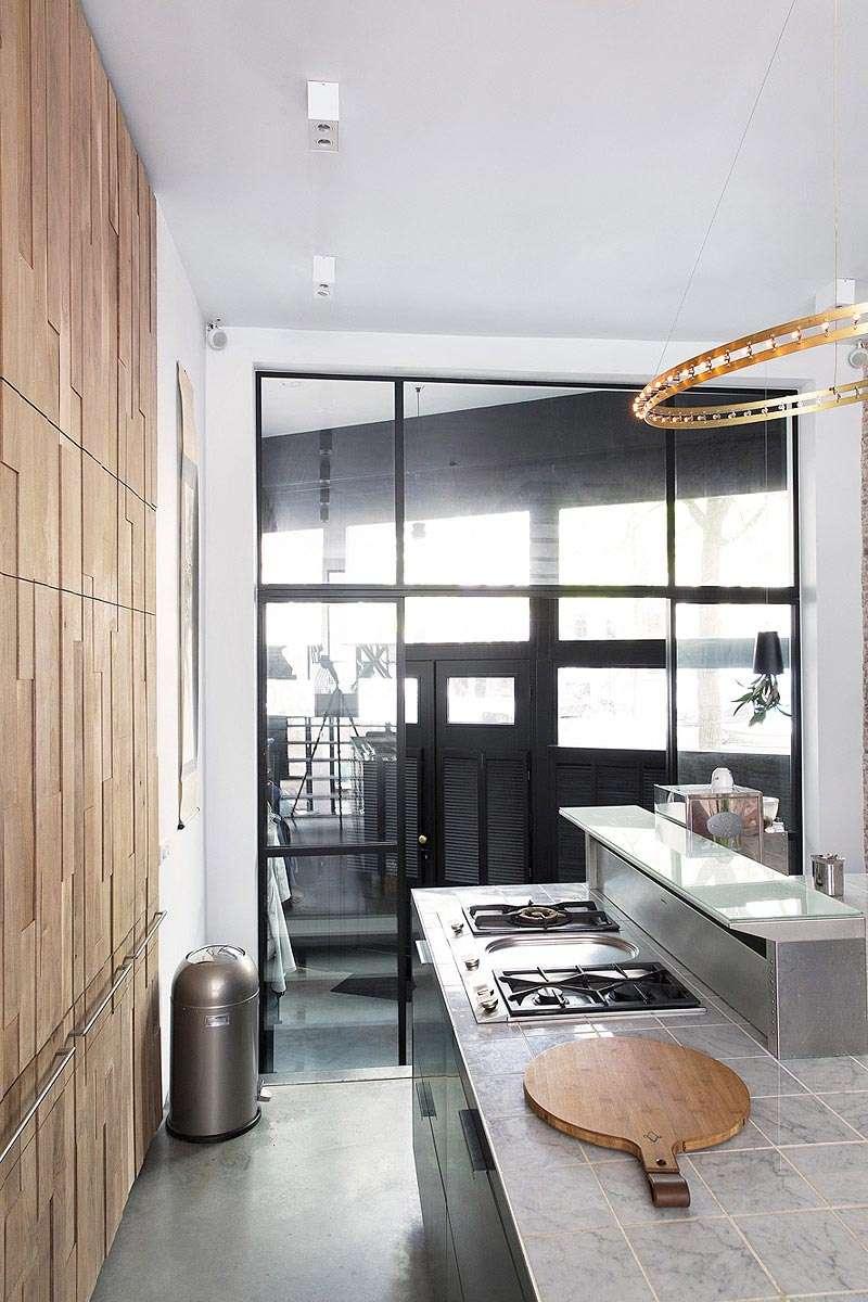 Keuken Renovatie Amsterdam : renovatie met interieurontwerp van grachtenpand Amsterdam BNLA