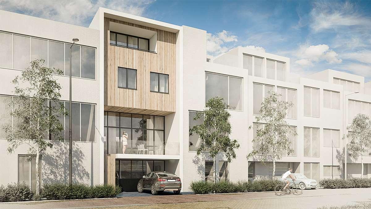 Ontwerp nieuwbouw woning door BNLA Architecten