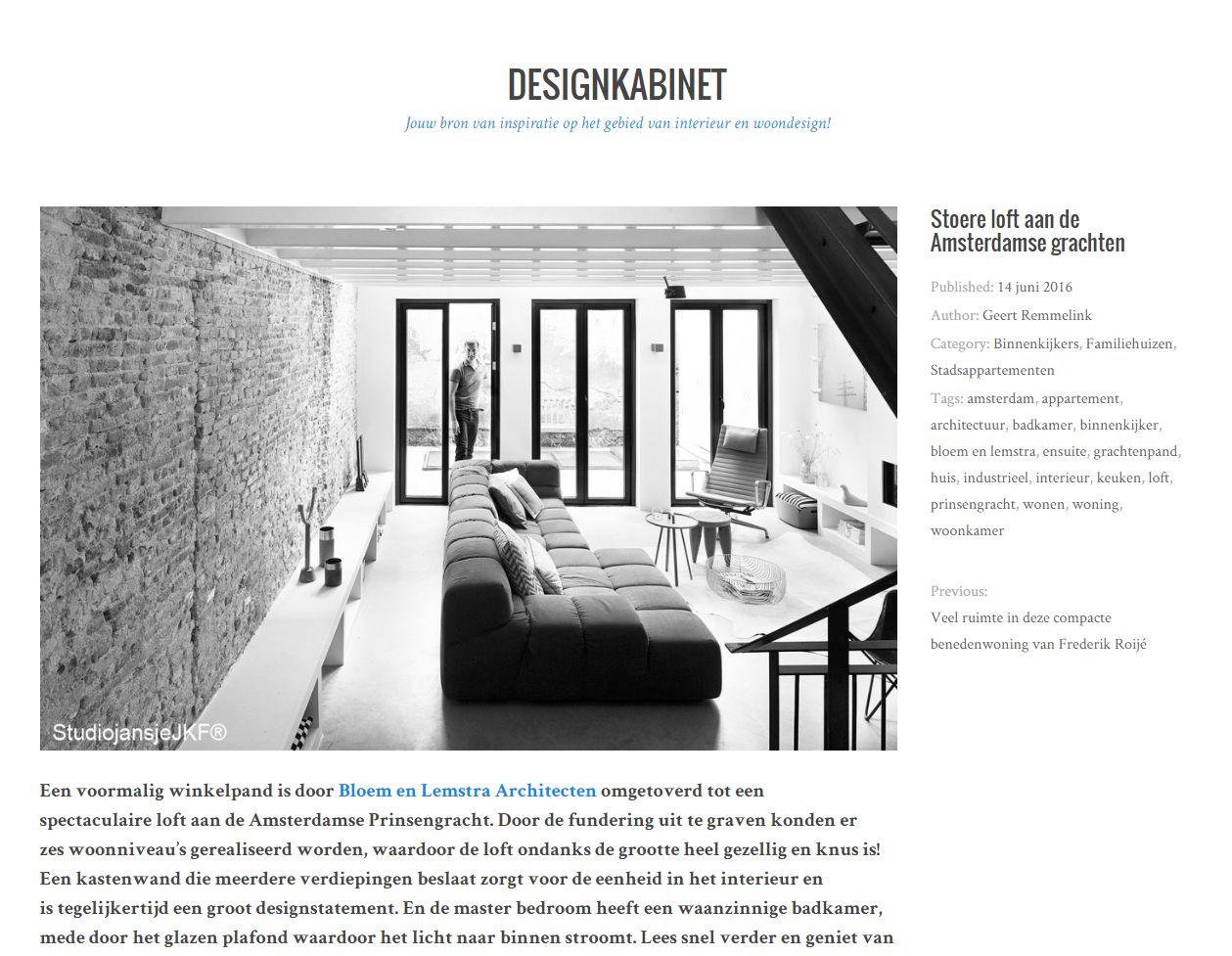 publicatie designkabinet