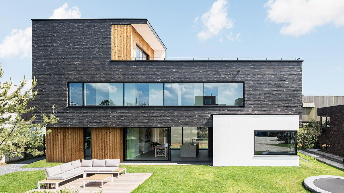Architect modern huis in Amsterdam