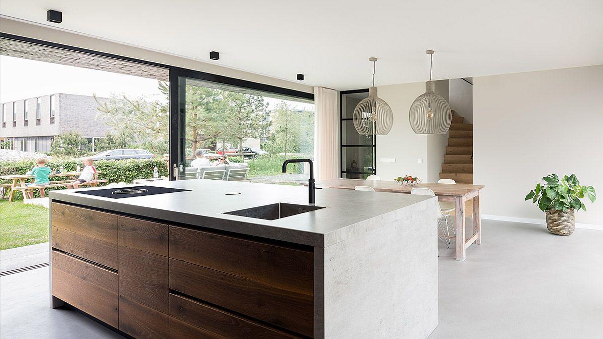 Ontwerp interieur luxe woonhuis door BNLA architecten