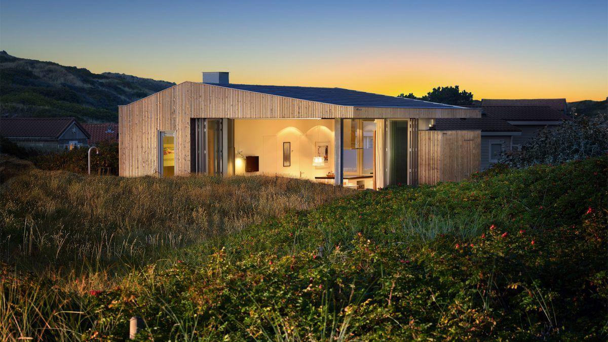 Ontwerp voor vakantiehuisje in Vlieland