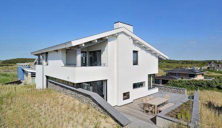 Ontwerp villa in de duinen van Bergen aan Zee