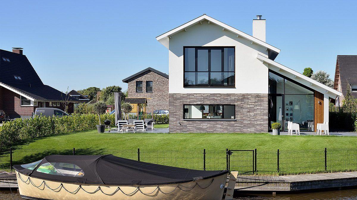 Nieuwbouwwoning aan het water - BNLA Architecten