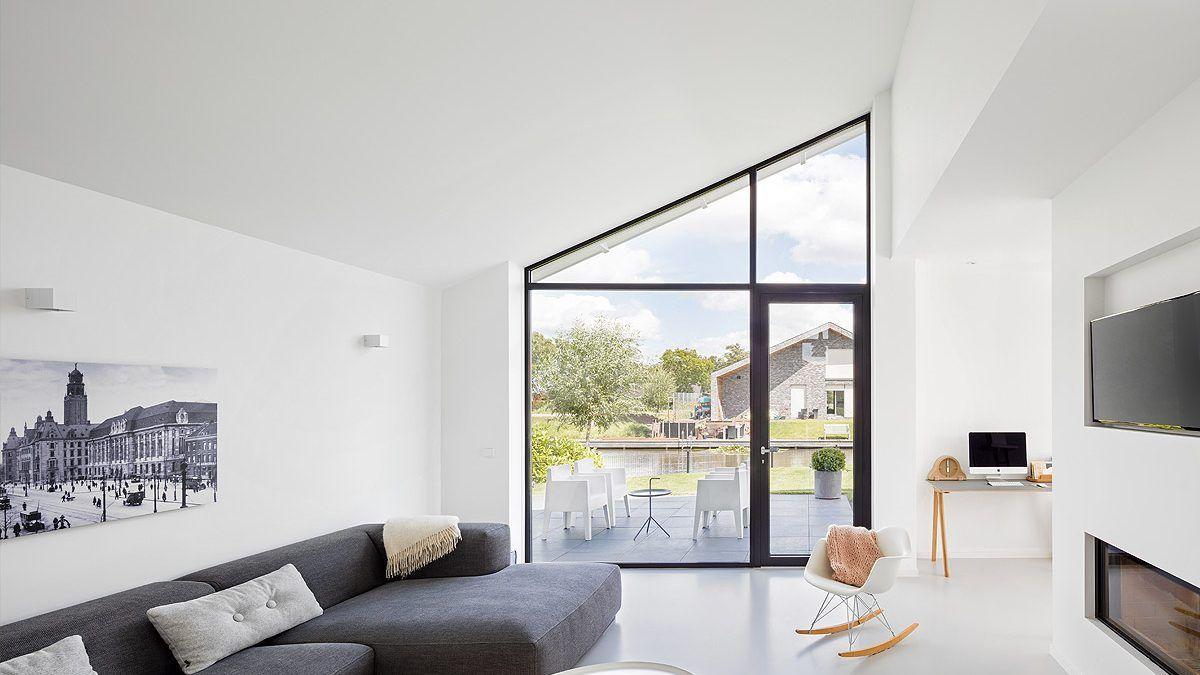 Interieur ontwerp nieuwbouwwoning - BNLA Architecten