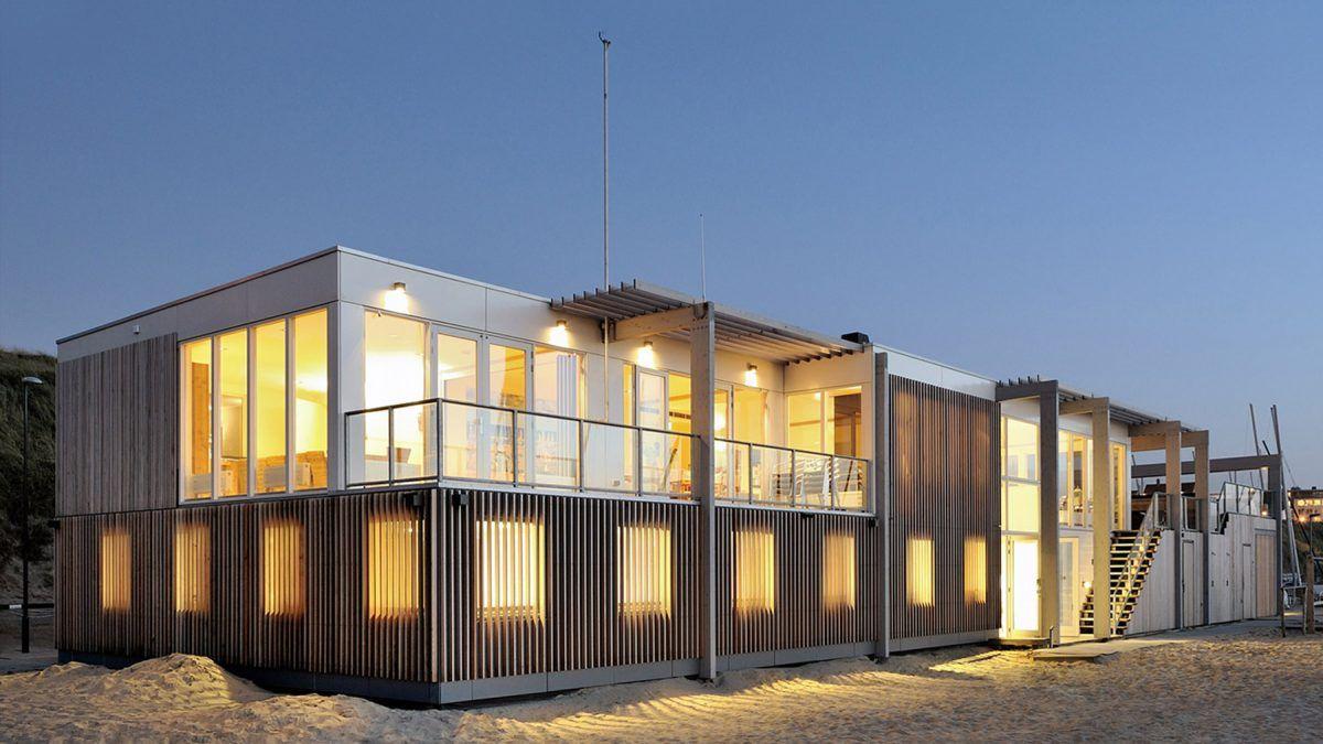 Ontwerp strandhuis Zandvoort - BNLA Architecten