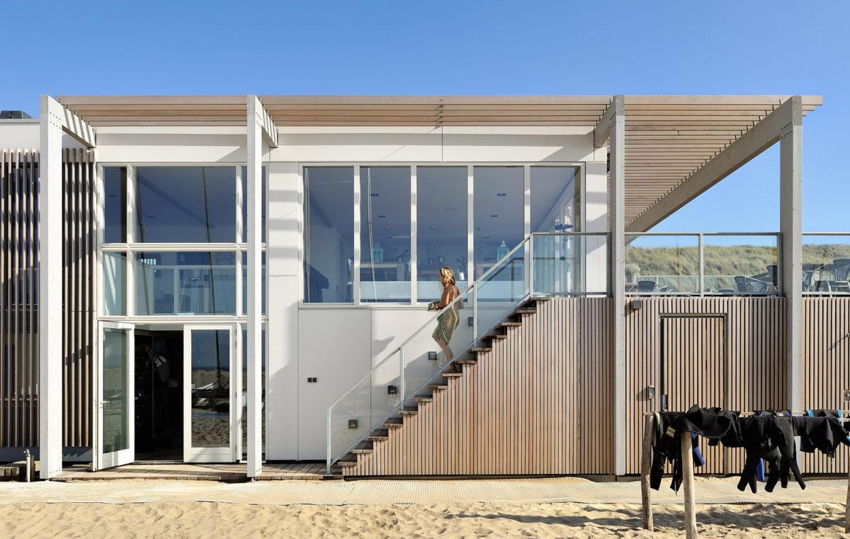 Clubhuis Zandvoort - ontwerp door BNLA Architecten