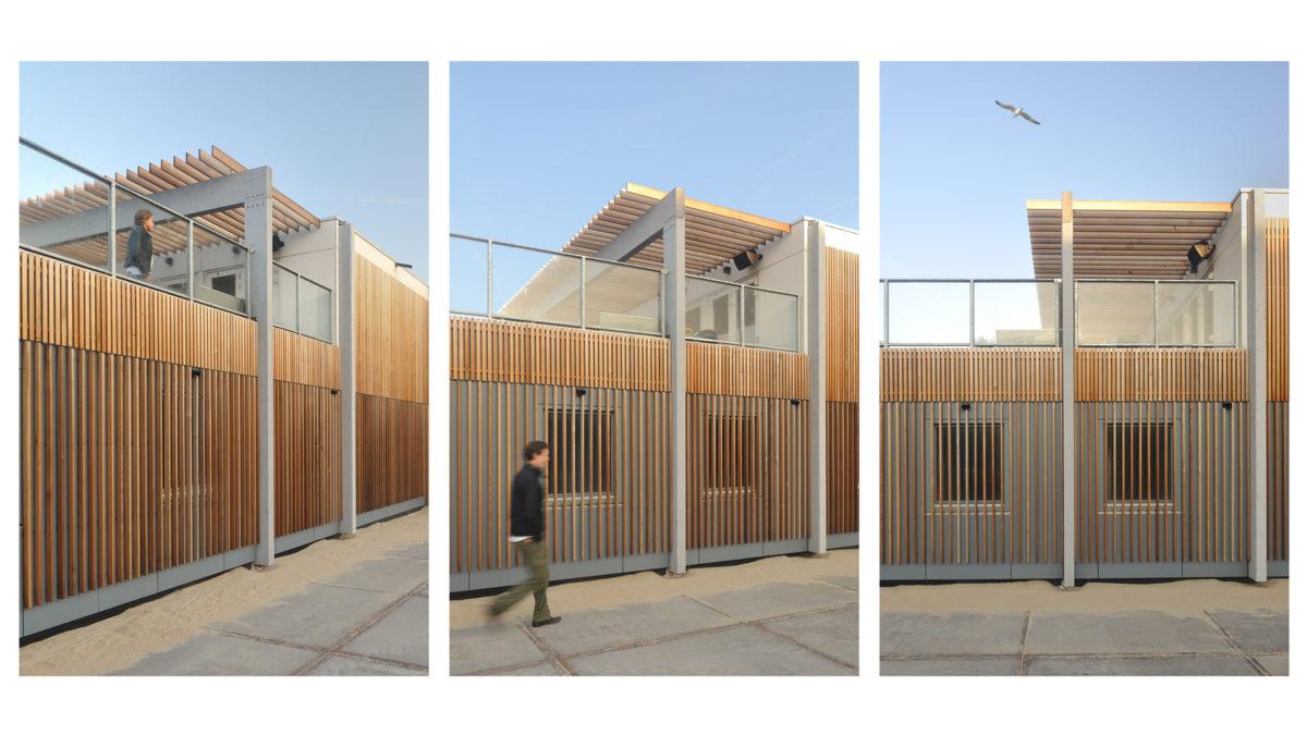 Ontwerp strandhuis door architect