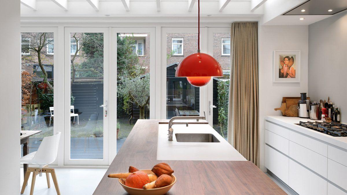 Open keuken na verbouwing begeleid door BNLA Architecten