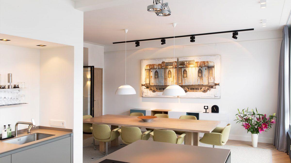 Ontwerp verbouwing appartement door BNLA Architecten