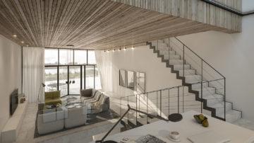 BNLA architecten heeft de opdracht gekregen voor het ontwerp van een woning op IJburg. Det betreft een blok met zogenaamde zelfbouw kavels, die zijn ontwikkeld met het doel om hier in particulier opdrachtgeverschap woningen te realiseren.