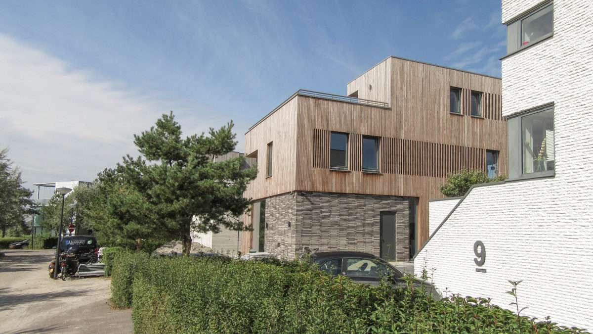 ontwerp architect huis amsterdam ijburg