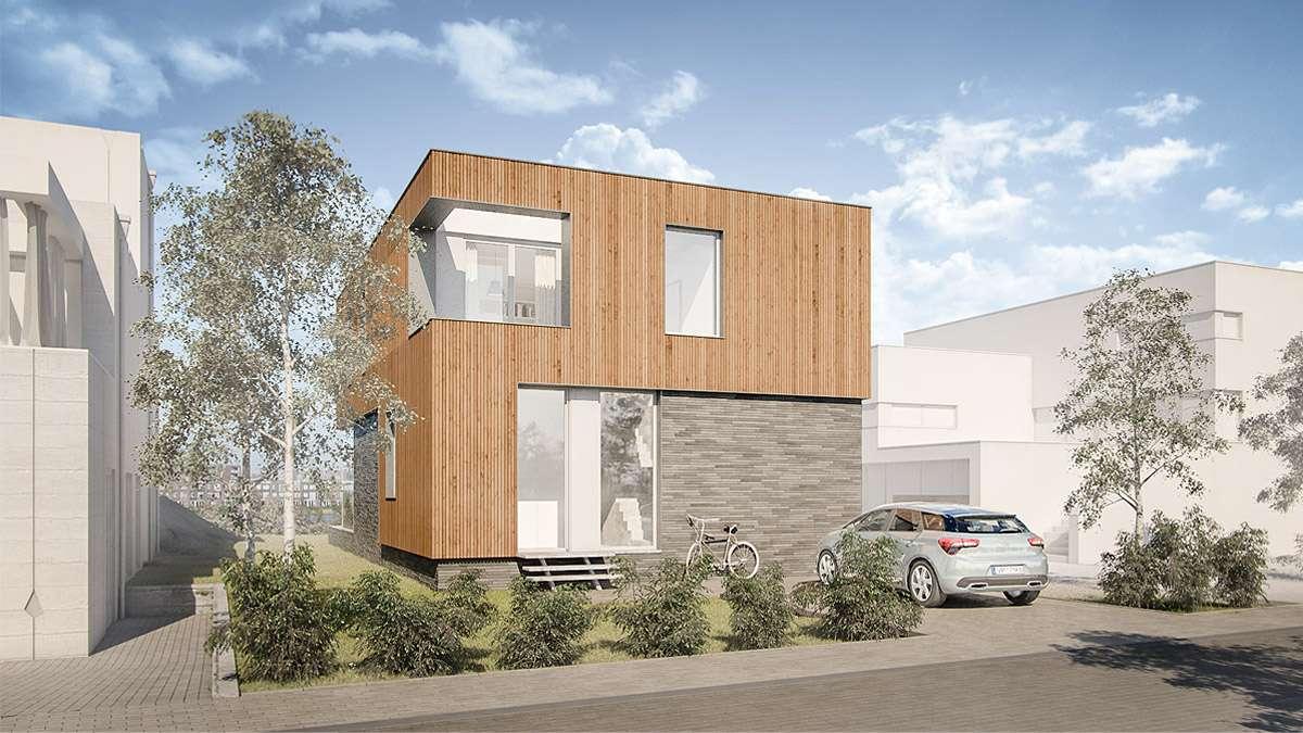 ontwerp huis Amsterdam- BNLA Architecten