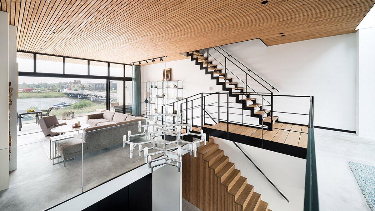 Interieur woning onder particulier opdrachtgeverschap. Ontwerp BNLA Architecten