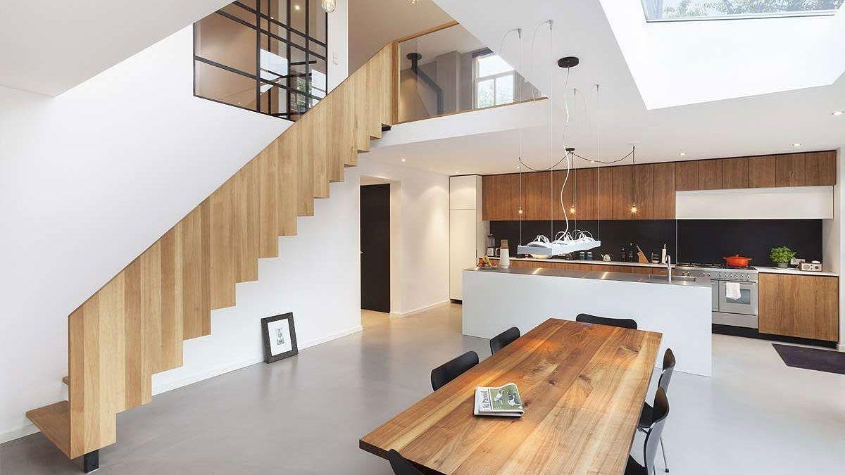 design keuken in dijkwoning