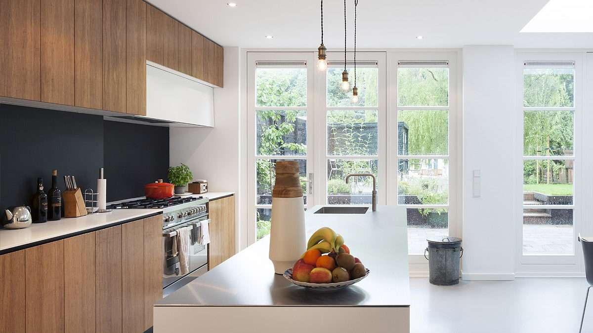 Keuken aan tuinzijde