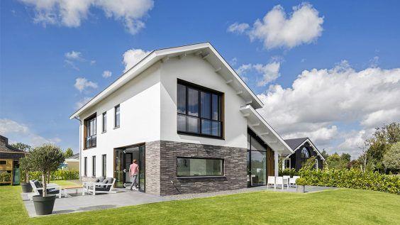 Ontwerp nieuwbouwwoning door BNLA Architecten