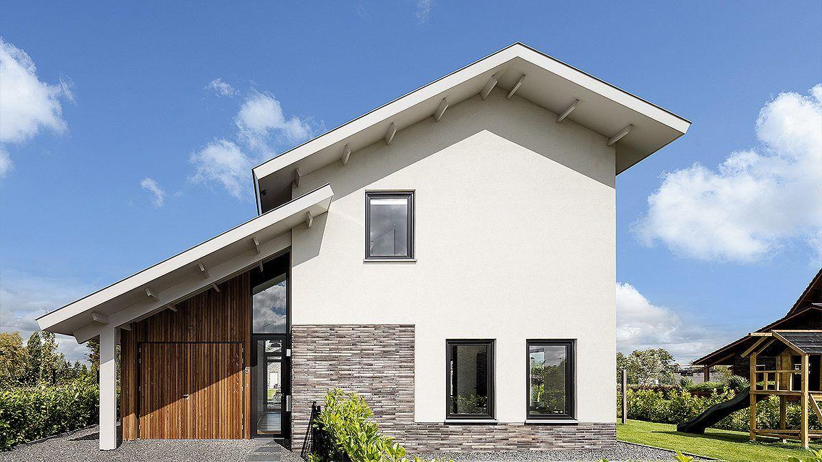 Ontwerp vrijstaande woning aan het water in Nieuwkoop. Ontwerp BNLA Architecten