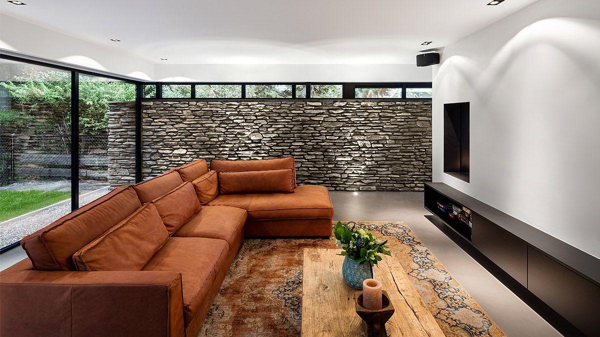 Ontwerp interieur luxe moderne woning