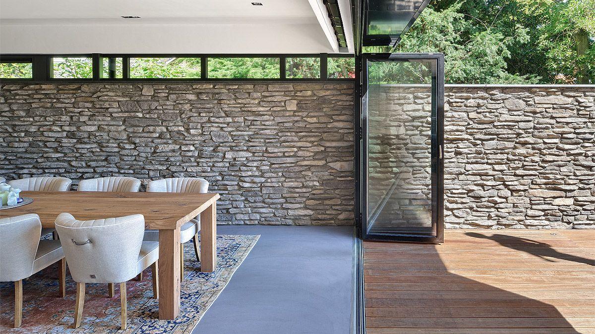Ontwerp woning van binnen naar buiten door BNLA Architecten