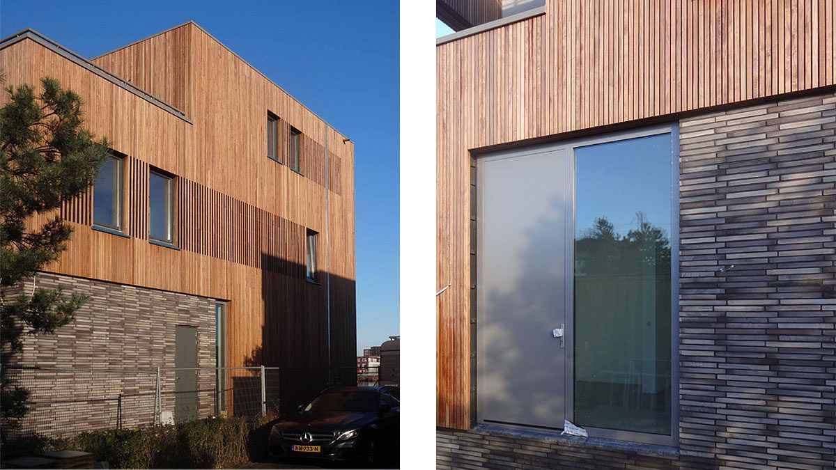 moderne warme woning door architect