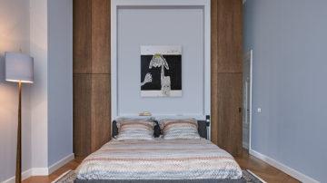 BNLA architecten heeft de afgelopen jaren diverse slaapkamers ontworpen die zo door kunnen als hotelkamers van een vijf sterren hotel. Architectuur in combinatie met designmeubels maken de slaapkamers tot een waar toevluchtsoord voor een ontspannen moment en goede nachtrust.