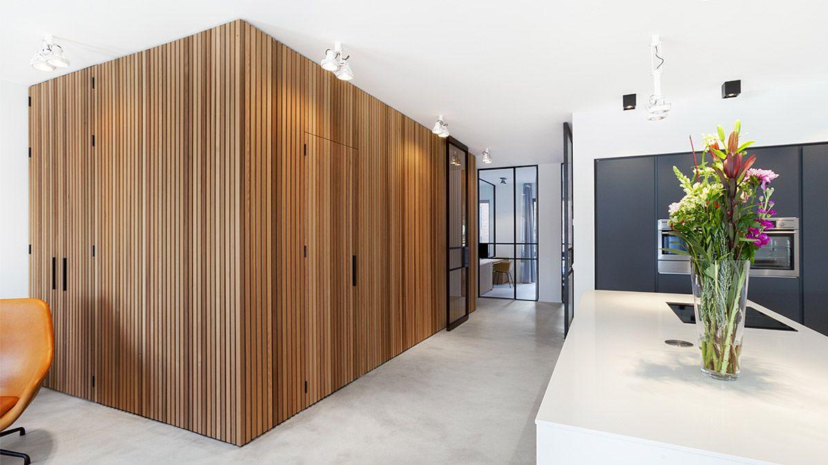 BNLA architecten - interieurontwerp van een stadsappartement in Amsterdam