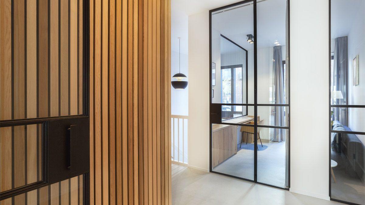 Modern ontwerp voor casco appartement